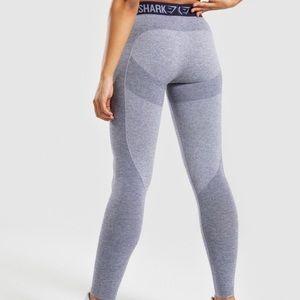 Gymshark Size Small Flex Workout Leggings in Grey